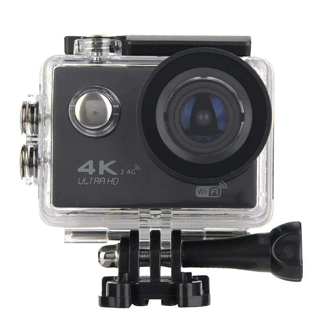 VBESTLIFE 1080P HD-Videokamera, Action Kamera WiFi Sports Unterwasserkamera, 2,0-Zoll-LCD-Bildschirm,SD-Karte unterstützt 64