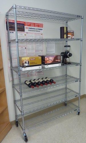 Storage shelving unit cover fits racks 60 wx24 dx72 h for Garage storage design software