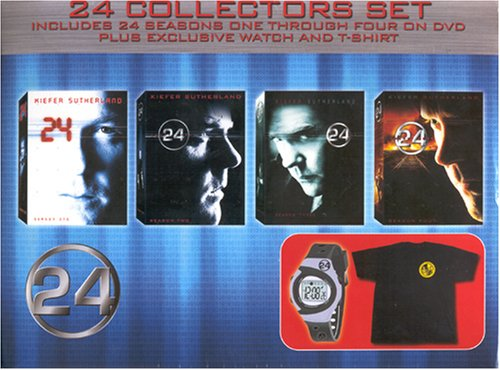 24 Limited Edition Collectors Set (Seasons 1 Through 4 Plus Exclusive Watch and T-Shirt)