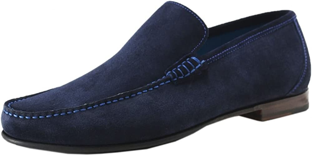 Suede Nicholson Loafers Navy
