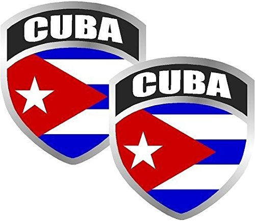cuban flag car decal - 5