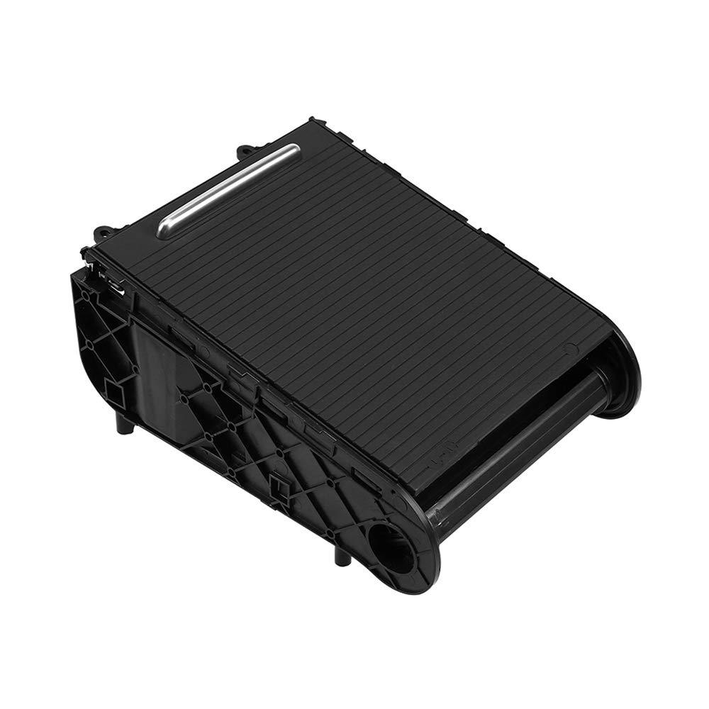 KKmoon Portabicchieri Nero Staffa portabicchieri Anteriore per Volkswagen Magotan Passat B6
