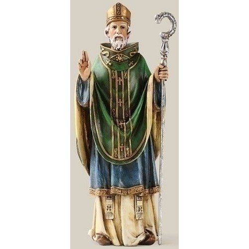 Saint St. Patrick Day Irish Patron Celtic Cross Statue (Leprechaun Statue)