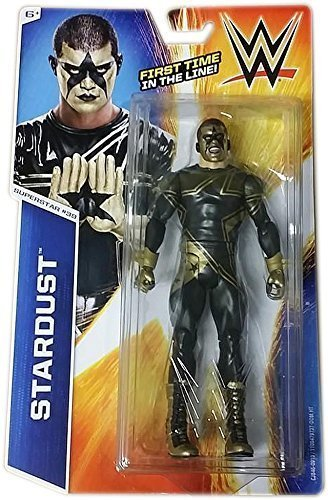 WWE Official Mattel Basic Series 51 Stardust #39 Action Figure (Stardust Wwe)