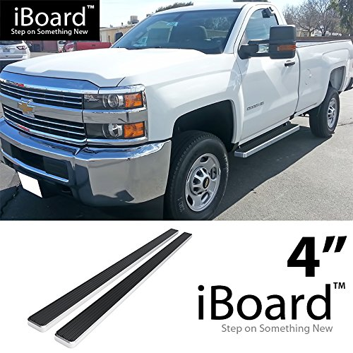 """5/"""" Lightweight Side Step Nerf Bar Running Board for 04-14 Ford F150 4Dr Crew Cab"""