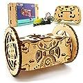 3d Wooden Puzzle Remote Control Car Robot Kit Diy Kids Robotics Balancing Rc Car