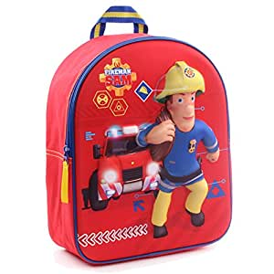 Fireman Sam Bombero Sam 900–764131cm a la rescate 3d Junior mochila