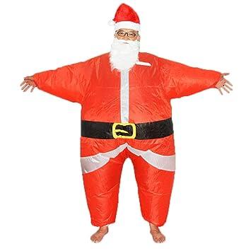 Toyvian Traje De Traje De Disfraz De Papa Noel De Navidad Viste