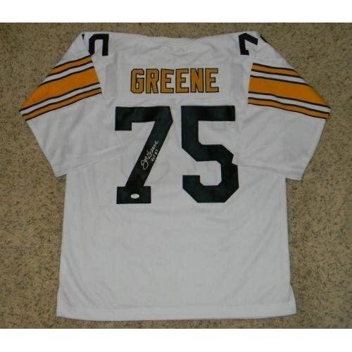 da91432bc well-wreapped Joe Greene Signed Jersey -  75 White Throwback - JSA  Certified -