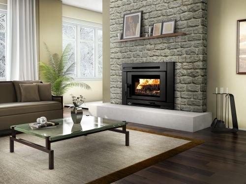 Osburn Matrix Wood Insert - Insert Burning Wood Chimney