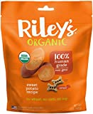Riley's Organics – Sweet Potato – 5 oz Small Biscuits – Human Grade Organic Dog Treats – Resealable Bag For Sale