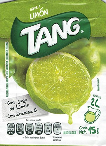 Amazon.com : Tang Limon Flavor Powdered Drink Mix (Pack of 24) with Tesadorz Resealable Bags : Grocery & Gourmet Food