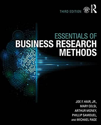 business research methods ebook No ebook available amazoncom contains numerous examples illustrating real-world research in management, marketing, finance, accounting, and other business areas business research methods he was the author of the successful textbooks exploring marketing research, business research.
