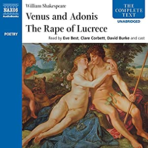 'Venus and Adonis' and 'The Rape of Lucrece' Audiobook