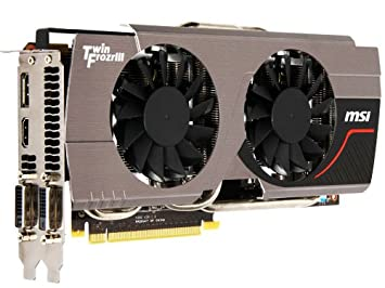 MSI N680GTX Twin FROZR 2GD5 GeForce GTX 680 2GB GDDR5 ...
