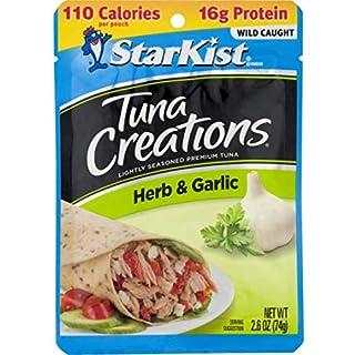 StarKist Tuna Creations, Herb & Garlic Tuna, 2.6 oz Pouch