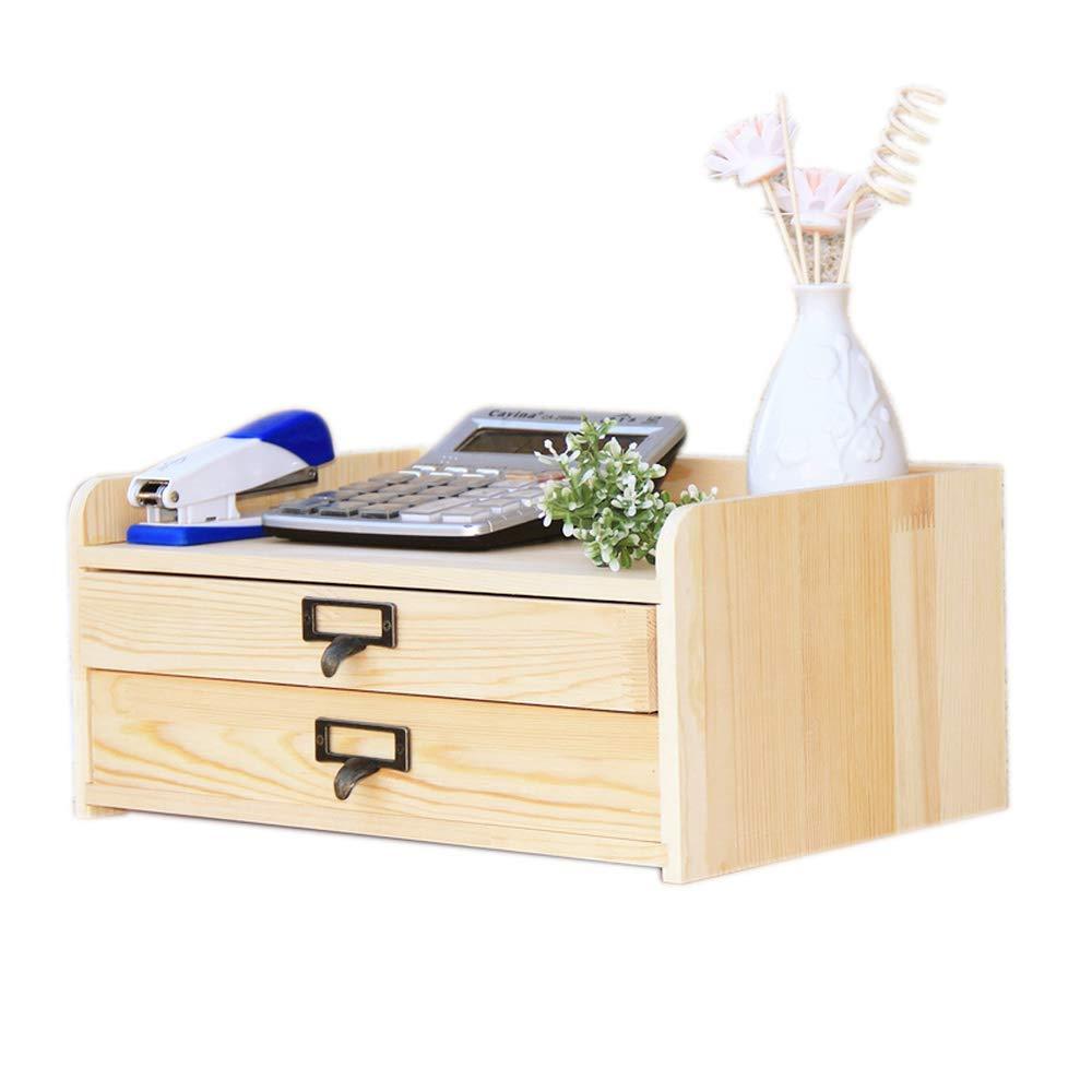 RANRANJJ Desk Desktop Drawer Storage Box Storage Cabinet Office A4 File Storage Finishing Box