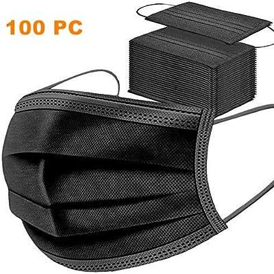 MaNMaNing Protección 3 Capas Transpirables con Elástico para Los Oídos Pack 100 unidades 20200702-MANING-X100