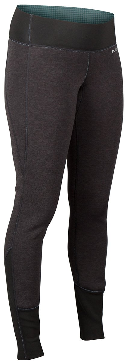 NRS Women's HydroSkin 1.5 Charcoal Heather Black XL by NRS