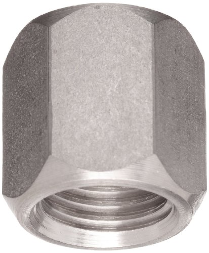 - Brennan 0304-C-06-SS, Stainless Steel JIC Tube Fitting, Cap Nut, 3/8