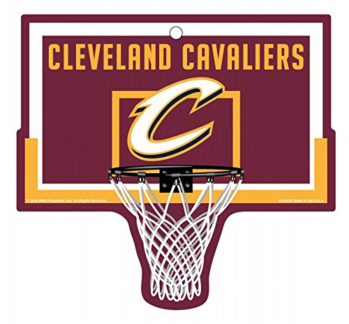 Cleveland Cavaliers Basketball Hoop Sign NBA by WinCraft