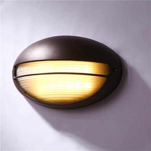 NKUFOS Iluminación de Pared Lámpara de jardín con Estilo, lámpara ...