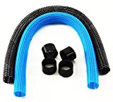 CableMod AIO Sleeving Kit Series 2 for EVGA CLC / NZXT Kraken (Carbon/Light Blue)