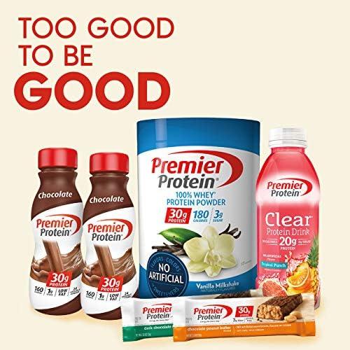 Premier Protein 30g Protein Shake, Vanilla, 11.5 Fl Oz Shake, (Pack of 12) 8