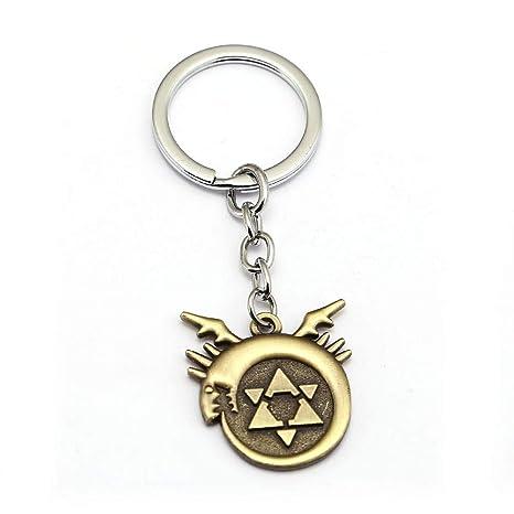 Amazon.com: Mct12 – llavero de metal Fullmetal Alchemist ...
