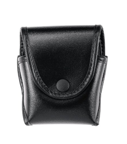 (Uncle Mike's Single Handcuff Case Black 74781)