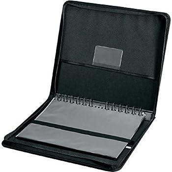 Image of Portfolios Alvin, Elegance Series Ergonomic Presentation Case, Multi-Ring Design with Hidden Zipper - 18-inches x 24-inches