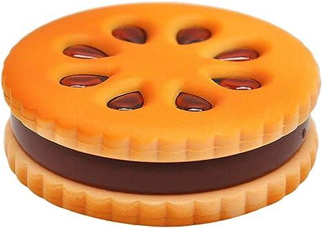Forma de Galletas Grinder de Metal Inicio de Tabaco Grinder Hierbas Cigarrillo de Tabaco Grinder - 1 Pack Naranja: Amazon.es: Deportes y aire libre