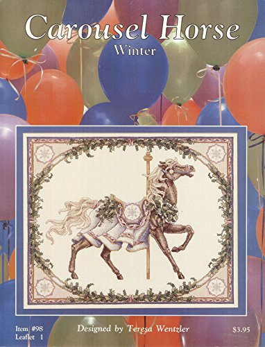 Carousel Horse - Winter (Counted Cross Stitch) - Leaflet 1 #98