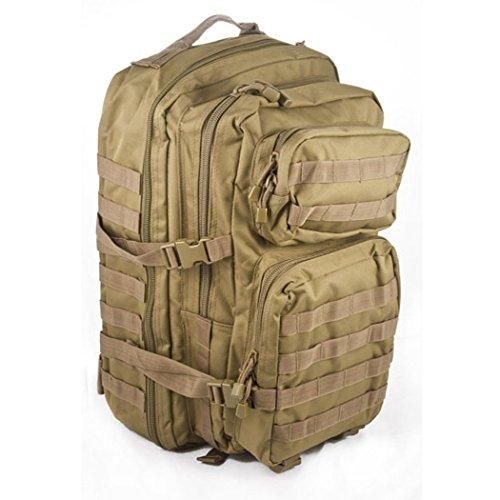 bkl1® US assault pack Large molle Coyote EDC Randonnée survivalisme Survival 566