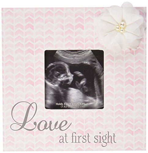 C.R. Gibson Sonogram Photo Frame, Love at First (Love At First Sight Frame)