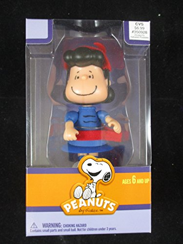 Peanuts 2012 CVS Lucy Brown Halloween Action Figure