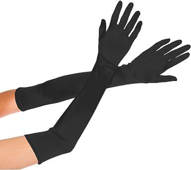 "Prom.Halloween. Bridal Wedding 15/"" Matte Glove Stretch With Spandex"