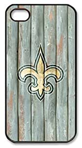 icasepersonalized Personalized Protective Case For Samsung Note 3 Cover NFL New Orleans Saints in Wood Background