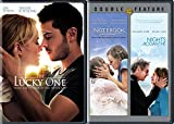 Nicholas Spark 3-Movie Bundle - The Notebook/Nights in Rodanthe & The Lucky One 2-DVD Set