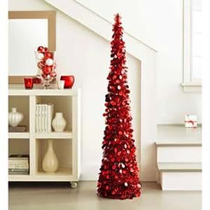 Pop Up Slim Christmas Tree
