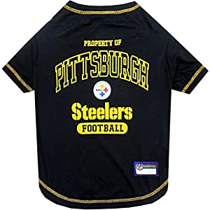 NFL PITTSBURGH STEELERS Dog T-Shirt, Small