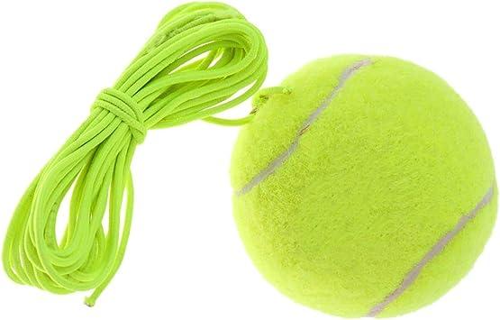 Winter Winner - Pelota elástica de Tenis, Color Verde: Amazon.es ...