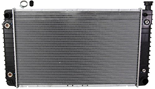 (NEW RADIATOR ASSEMBLY FITS CHEVY 88-96 C1500 SUBURBAN C2500 C35 K1500 K2500 K3500 21372 2644 RA1217 52491623 GM3010234 CU618)