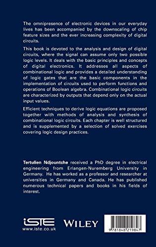 Digital Electronics, Volume 1: Combinational Logic Circuits (Electronics Engineering) by Wiley-ISTE