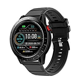 Smart Watch for for Men and Women,CKG Fitness Watch for Android and iOS Phones with Continous Heart Rate Monitor…