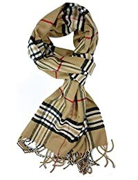 American Trends Fashion Soft Warm Classic Cashmere Feel Winter Long Scarf Camle