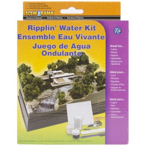 Woodland Scenics SP4122 Ripplin Water Diorama Kit Diorama Kit