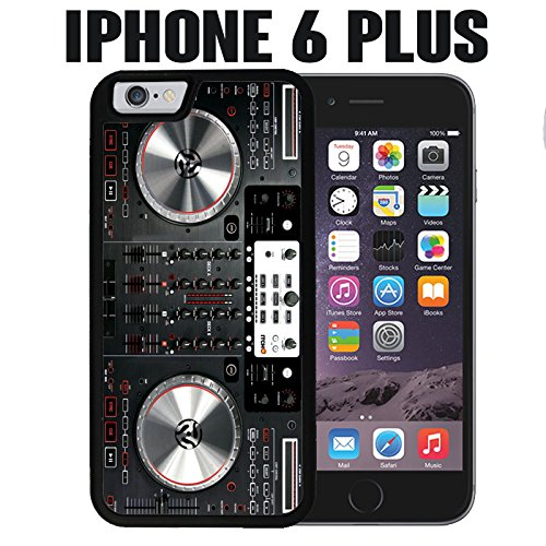 iPhone Case DJ controller Mixer for iPhone 6 PLUS Rubber Black (Ships from CA)