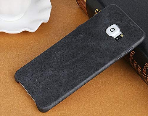 detailed look 53edb c818e Samsung Galaxy S6 edge plus leather case men slim PU back cover ...