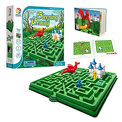 SmartGames Sleeping Beauty Board Game, A Preschool Puzzle Game & Brain Game for Kids, Cognitive Skill-Building Challenges, Ages 3-7.: Toys & Games